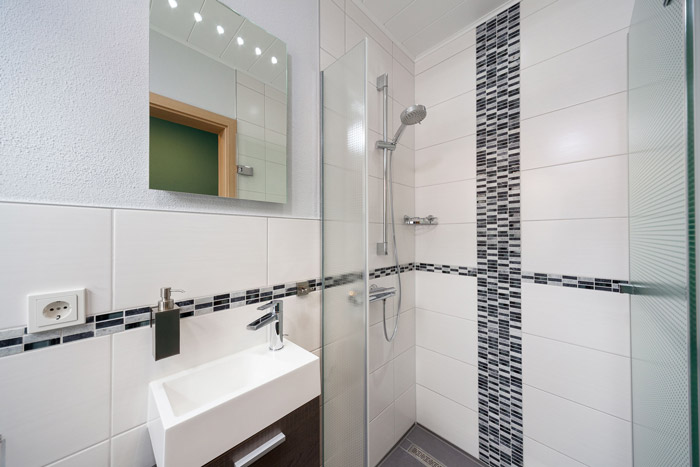 Gäste WC mit Dusche