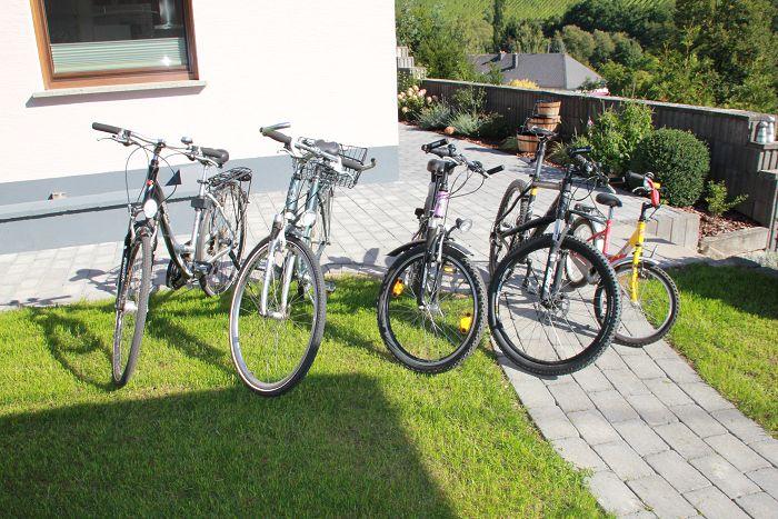 Fahrräder zur kostenlosen Nutzung